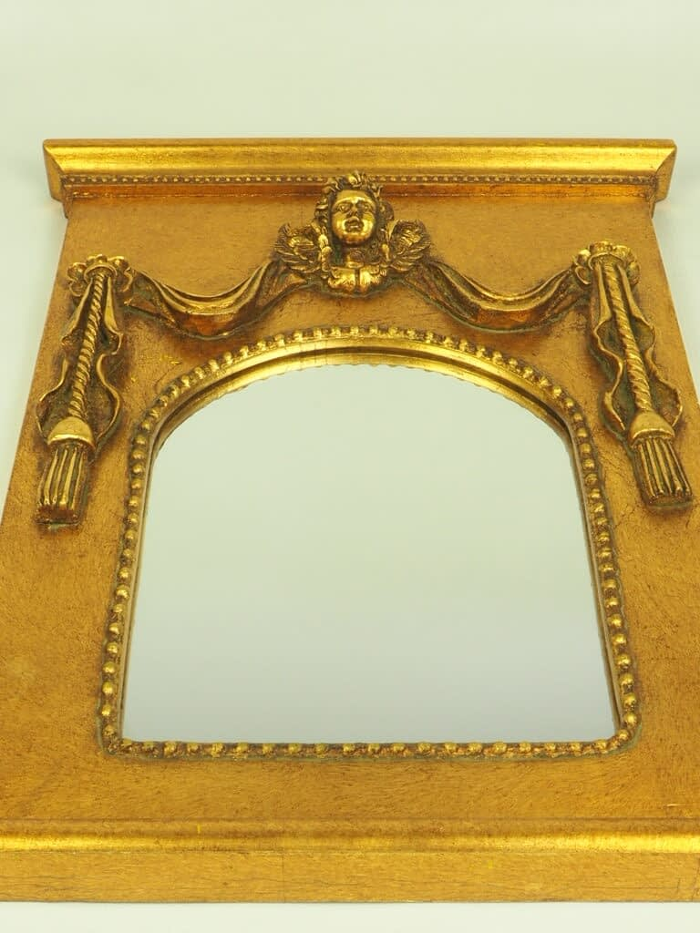 Vintage Neoclassical Wall Mirror