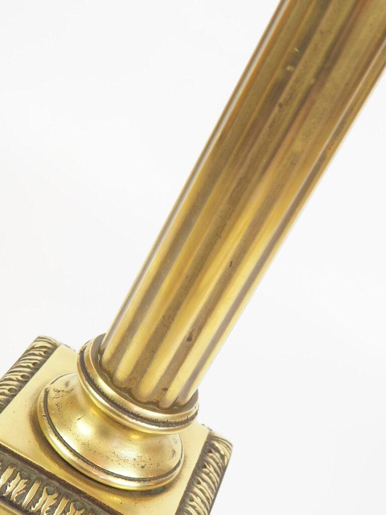 BRASS COLUMN LAMP 6  rotated