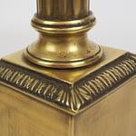 BRASS COLUMN LAMP 2